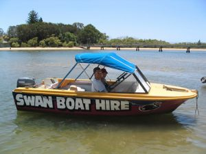 Swan Boat Hire - Accommodation Cooktown