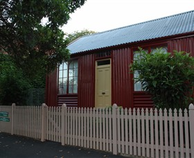 19th Century Portable Iron Houses - Accommodation Cooktown